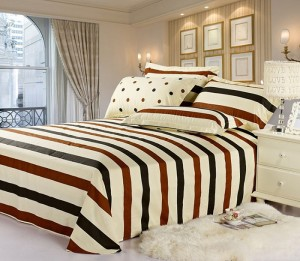 Pongee fabric for bedding