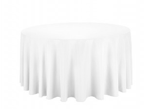 High quality snow white mini mattt fabric with waterproof for table cloth