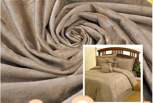 Faux suede upholstery fabrics