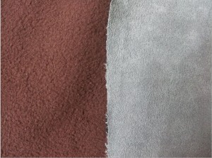 Micro Suede Fabric Bonded Polar Fleece