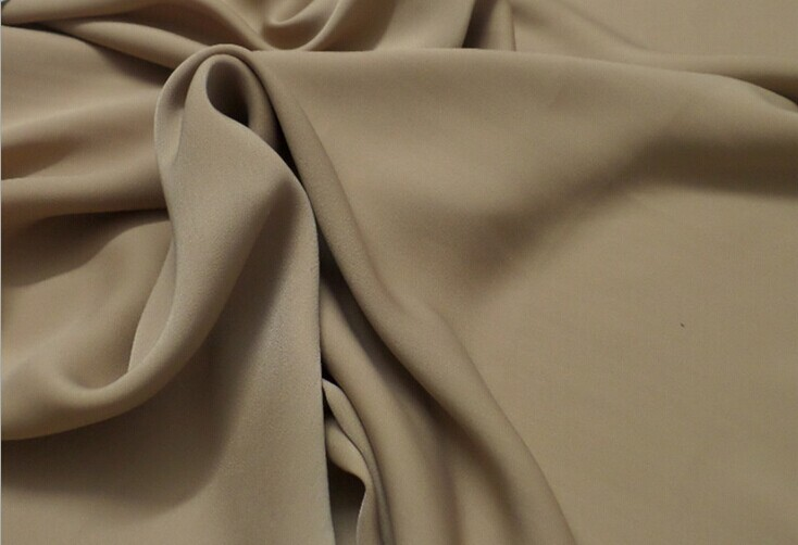 Polyester chiffon fabric material