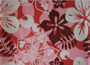 190T Pongee Fabric Printed