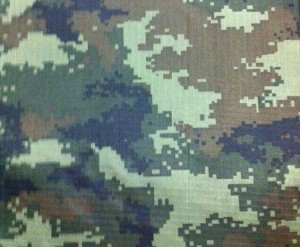 Camouflage printing tent fabric