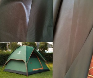 Tent fabric waterproof, oxford fabric coated waterproof