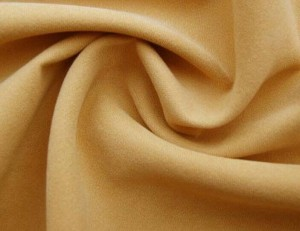Twill brushed microfiber fabric