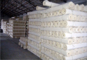 Polyester pongee fabric in greige