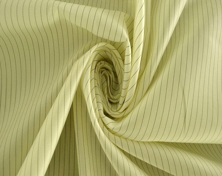 Anti-static plain stripe taffeta fabric, ESD Fabric