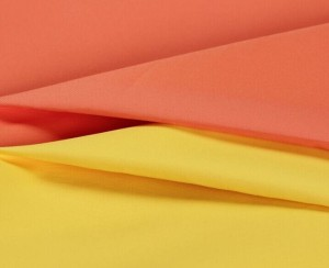 Polyester twill high density downproof fabric