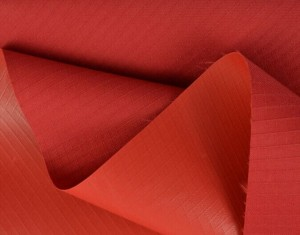 Polyester ribstop oxford fabric pvc coated