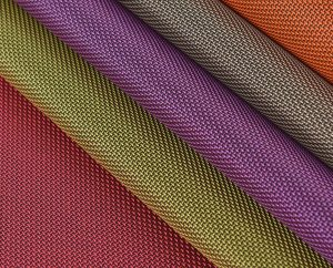Polyester two tone oxford fabric
