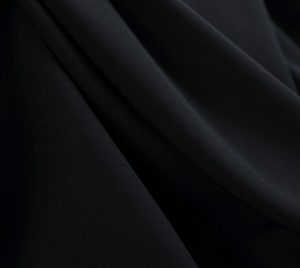 polyester-wool-peach-fabric-formal-black-color