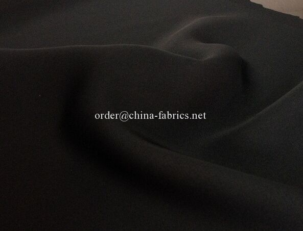 Polyester Woven Abaya Wool Peach korean formal black fabric