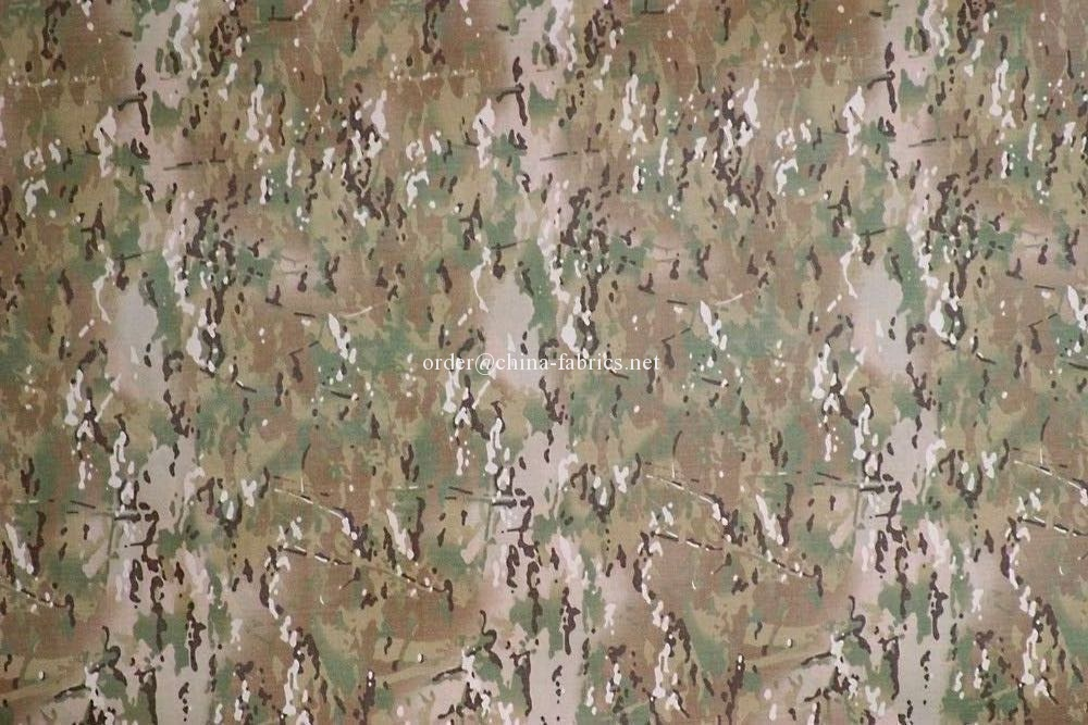 Nylon 500D cordura oxford fabric multicam printing