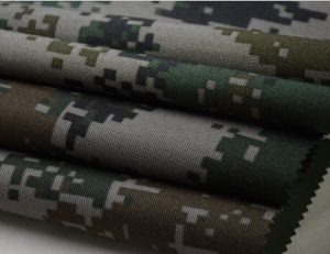 Polyester 1000D digital camouflage printing oxford fabric