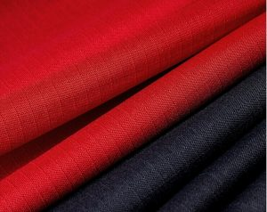 Polyester 600D ripstop oxford fabric pu coating