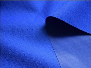 Polyester 900D ripstop oxford fabric PU coating
