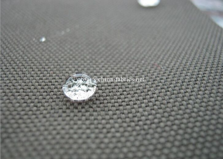 Nylon 500D cordura fabric waterproof pu coating