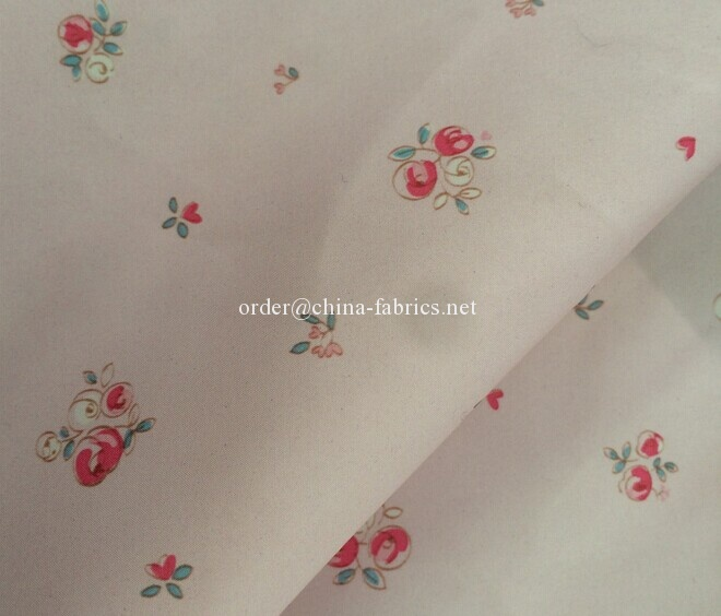 Polyester 300T printing microfiber pongee fabric