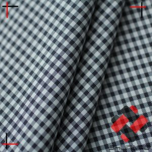 Polyester 300T yarn dyed microfiber pongee fabric