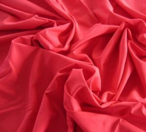 Polyester 50D microfiber fabric plain dyed 65 gsm