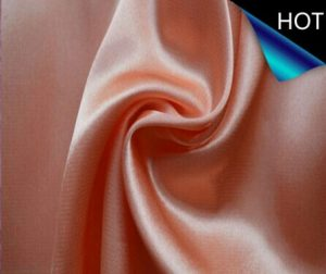 Polyester Twisted Satin Clothing Fabric