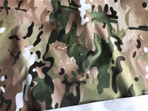 Polyester 190T taffeta fabric multicam printed waterproof