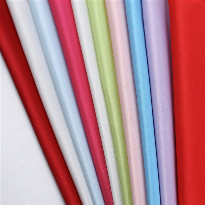 Polyester valentino dull satin fabric