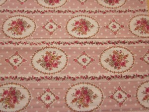 Polyester printed wool peach fabric