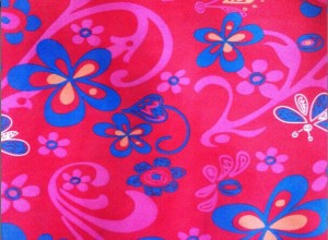 Printed oxfored fabric