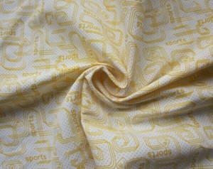 Transfer printed twill microfiber peach skin Polyester fabric
