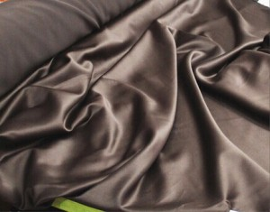 100 polyester smooth satin charmeuse