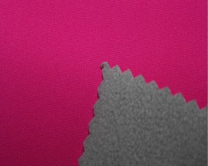 Four way stretch bonded micro polar fleece and TPU laminated fabric