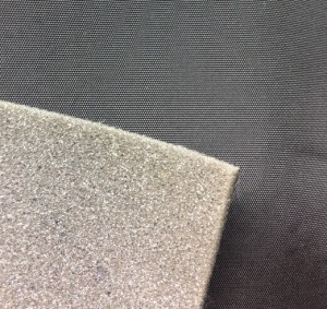 Oxford fabric bonded sponge fabric