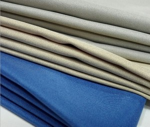 Polyester Gabardine Twill Fabric for Hotel Uniform