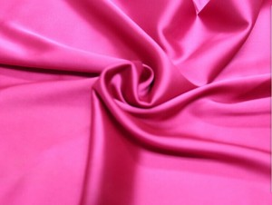 Satin fabric with stretch