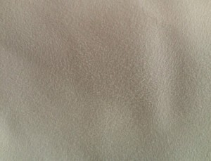 Suede fabric white color in stock
