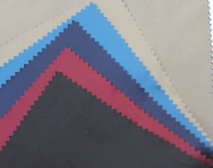 50D polyester pongee coating calendering fabric