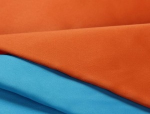 PU breathable coating satin fabric
