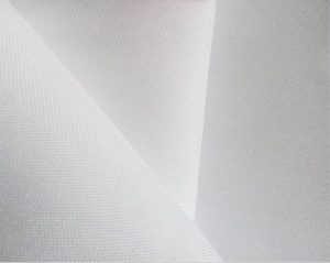 Polyester spun yarn fabric