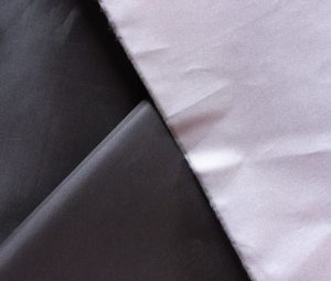 Polyester 210t taffeta 66D fabric pu milky coating