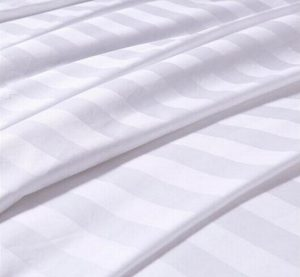 Satin Stripe Dobby sheeting fabric