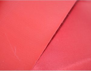 Polyester 150D Oxford kain pvc backing