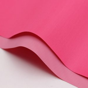 Polyester 420D Oxford fabric pvc backing