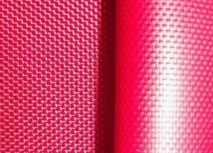 Polyester 600D oxford fabric acrylic solution dyed coating