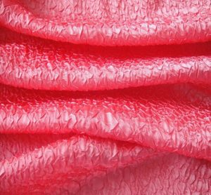 Polyester Crushed Charmeuse Satin Fabric for Garment