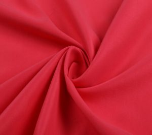Polyester Twill Microfiber Fabric Peach Finished 120 gsm