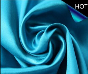Polyester Twisted Satin Fabric for Ladies Garment
